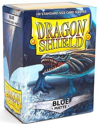 Dragon Shield Matte: Blau (100 Stück)