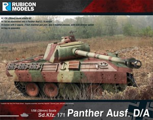 Rubicon Models: Panther Ausf. D/A (1/56)