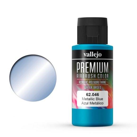 Vallejo Premium: Metallic Blue (Polyu.) (60ml)