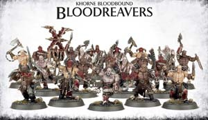 Warhammer Chaos: Khorne Bloodbound Blood Reavers