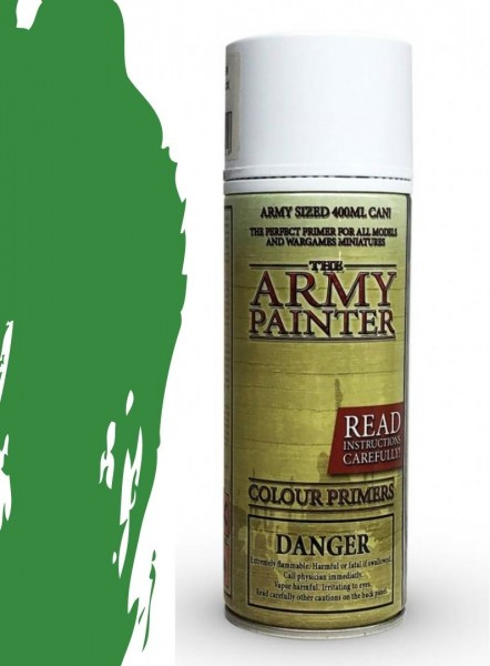 The Army Painter: Color Primer, Goblin Green 400 ml