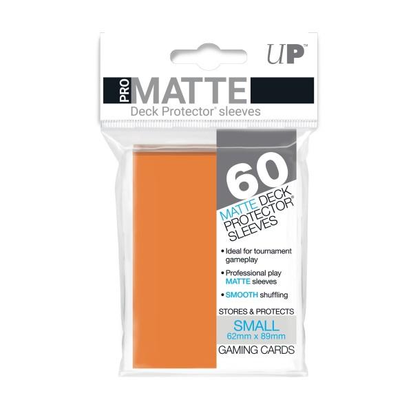 Small Deck Protector Pro-Matte Orange 62x89mm (60)