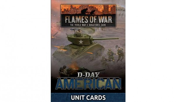 Flames of War US: D-Day Americans: Unit Cards (x42/engl.)