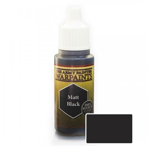 The Army Painter: Warpaint Matt Black