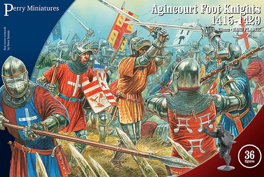 Perry Miniatures: Agincourt Foot Knights