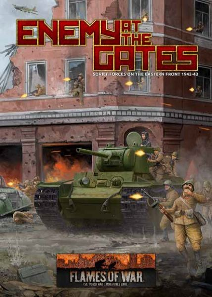 Flames of War SU: Enemy at the Gates - Soviet Army Book (engl.)