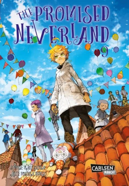 The Promised Neverland Band 09
