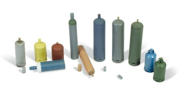 Gas Bottles - Assorted