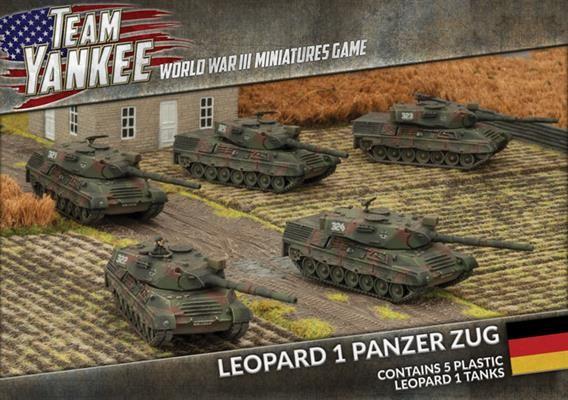 Team Yankee Leopard 1 Zug (Plastic)