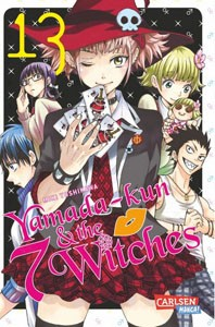 Yamada-kun and the seven Witches Band 13
