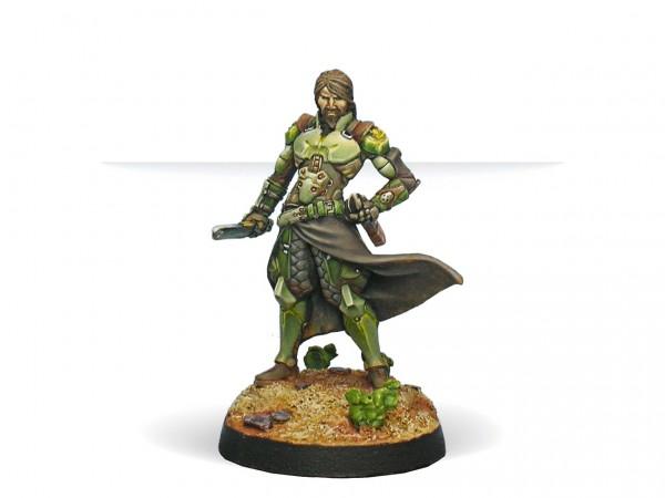 Infinity: Saladin, Liaison Officer (Combi Rifle)