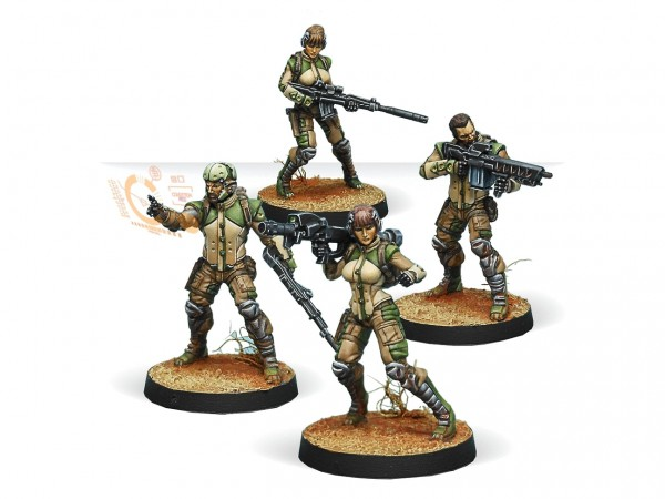 Infinity: Ghulam Infantry
