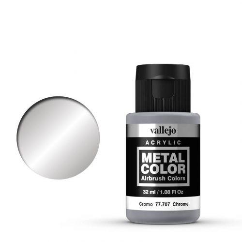 Vallejo Metal Color 707 Chrome 32 ml.