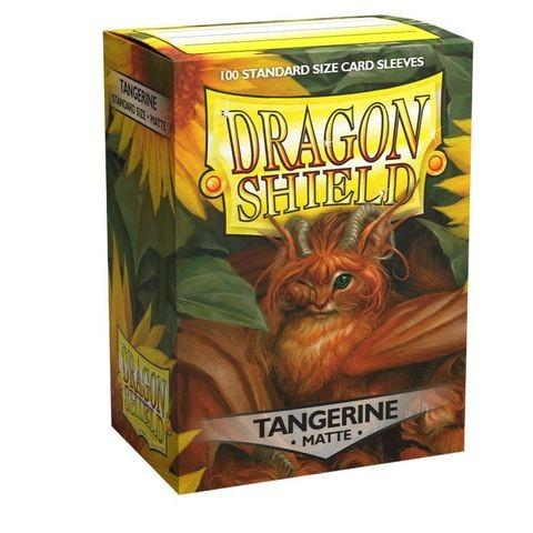Dragon Shield Matte - Tangerine