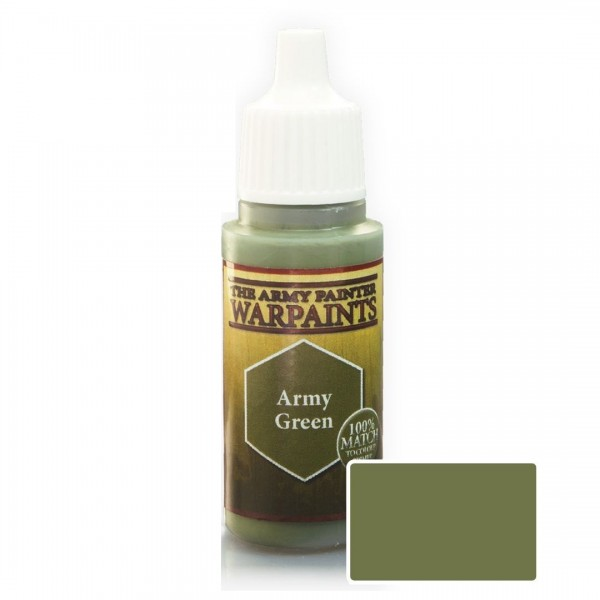 The Army Painter: Warpaint Army Green